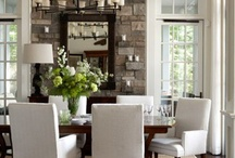 DINING AREA & ROOMS / by Linda Clark