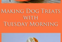 Baking for Your Pets / Dogs and cats love homemade treats as much as we do! Try these tips and recipes for baking pet treats to please your furry friends. #TuesdayMorning #seektheunique / by Tuesday Morning