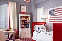 Bedrooms / by Heather Irving
