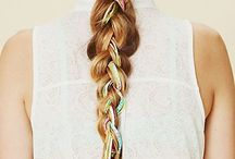 Prettify: Hair Growing Inspiration / Medium-long whirly wavy 2C...wave loosens with length. Hair doesn't grow past shoulders.  / by Heather Torrence