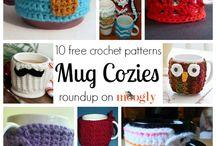 Crochet mug cozies / by Selena Snow