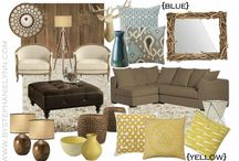 Brown room inspiration / by Nancee Smith