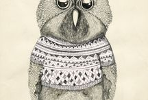 Owls / by Vanessa King