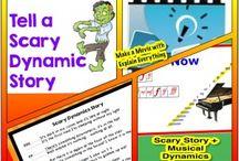 Music Ed Vocabulary / by Emma Jencson