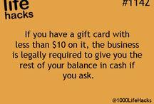 Money Hacks / by MyBankTracker.com