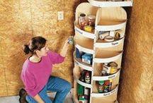 Organization and Storage / by Pam Mitchum