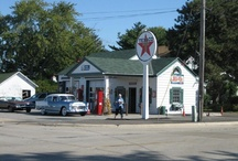 Old Gas Stations & Pumps / by Lieutenant 107