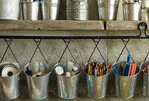 Basement Craft Room Ideas / by Melissa Basler