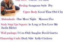 Exercise and Fitness / by Jeannette from J-Man and MillerBug