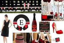 Red & Black Inspiration / by Exquisite Affairs