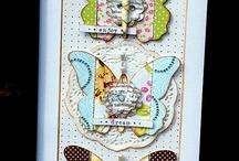 Card Inspirations / Beautiful handmade cards.  / by Helen Gullett