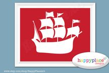 Talen's Room Inspiration! / Pirate Room decor and inspiration / by Schyler Blackwell