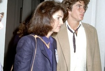 Hanging Out with Mom: JFK Jr. and Jackie / Always a close bond between Jackie and her son JFK Jr. Here are some of their public and private moments together. www.pinkpillbox.com / by pinkpillbox.com