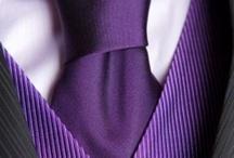 Wedding ~ Purple Groom & Groomsmen / People wedding ~ Groom & Groomsmen / by Arielle Oliver