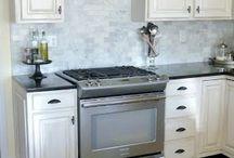 kitchen cabinets / by Joan Mclain