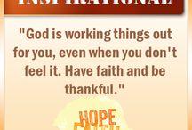 Faith Quotes / by Spiritual River Addiction Help & Alcoholism Treatment