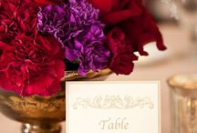 Purple, Gold & Red Wedding / Our wedding color scheme / by Heather Hardin