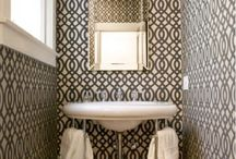 Bathroom inspiration / by Christina Jackson