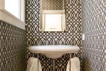Bathroom inspiration / by Christina Jackson