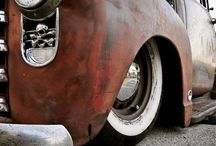 Insperational Ride / Rods Muscle classics  / by Comrade snarky