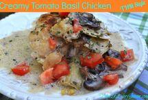 Trim Healthy Mama Dinner Ideas / by Rachel (BubblyNatureCreations)