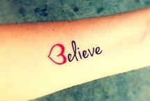 tattoos / by Aliyah Jenny