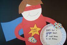 School Lunch Lady Hero Day / by Lisa Hunnicutt
