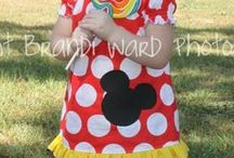 Minnie mouse outfits / by Tiffany DeGeer