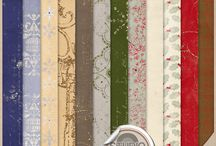 Merry Christmas Coordinated Collection / Digital Scrapbooking Supplies / by Mad Genius Designs