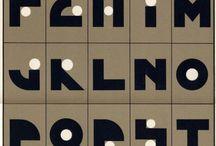 A to Z / Alphabets, typography, A to Z / by Cindy Pestka