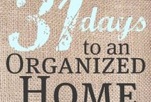 Organize Home / by Amanda Faye
