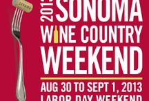 Sonoma Wine Country Weekend Event / by Sonoma.com
