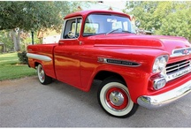 Classic Cars, Trucks, and Motorcycles / by Russ Cox