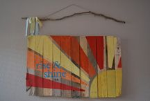 Pallets / Fun ideas for shipping pallets / by Amy Allen
