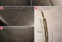 Fashion - Colars - Beaded, Chain, Cloth, Lace, Etc. / by Sharla Speirs