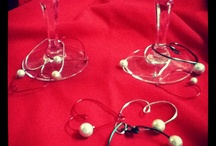 Christmas gifts  Wine glass charms / by Michelle Williamson