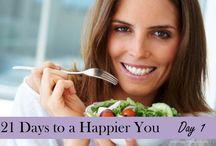 21 Days to a Happier You / 21 Days to a Happier You / by Fawn Weaver {Happy Wives Club}