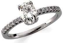 Moissanite Fashion Rings / by Joy Jewelers