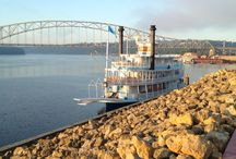 Big River Keep on Rolling / Walks down by the Mississippi / by Jacob Robertson