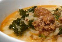 Soups / by Sandra Corsentino