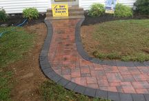 Walk this way... / Various walkway designs & installs by us... / by RYAN'S LANDSCAPING