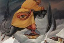 Optical illusions. / by Harjeet Panesar