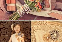 flower girls / by Shelly Sarver Designs