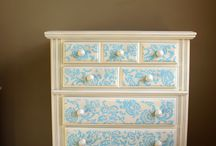 Furniture makeovers / by Lacey Evanishin-Curle