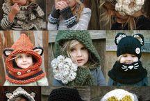 gorros, bufandas,mitones, zapatillas, chales... / by Yolanda Entrefyls - crochet and more