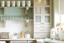 "Kitchen Inspiration / Because my kitchen is mostly used for decoration.  And to make an occasional ""hot dog"" pot pie. / by Thistlewood Farm"
