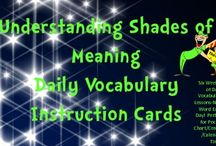 Vocabulary / by Kerry Ames