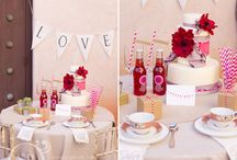 pretty in { pink } wedding at tlaquepaque in sedona / gorgeous design by margaret van damme of van damme weddings in sedona, arizona ~ http://vandammeweddings.com/  the beautiful letterpress paper products were created by the aerialist press ~ http://theaerialistpress.com/  gorgeous ruffle cake by sedona cake couture ~ http://sedonacakecouture.com  the birds nest floral detail was created by the creative guys at events by show stoppers ~ http://eventsbyshowstoppers.com  photography by sedona bride photographers ~ http://www.sedonabrideblog.com / by Sedona Bride Photogs Andrew