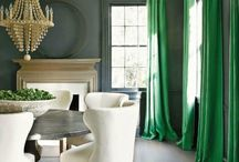 EMERALD GREEN ROOMS / by South Shore Decorating