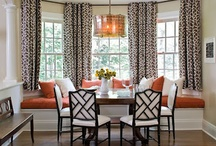 Banquetts and window seats / by Taylor Greenwalt Interiors